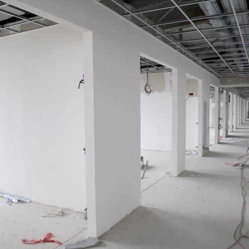Fertiggestellte Wände von AMS GmbH